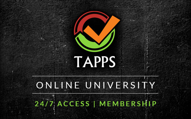 Tapps OnLine University Membership